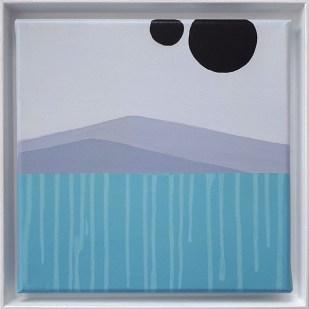 frame 6#2, 2019 - acrilico su tela - 25 x 25 cm
