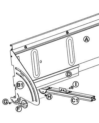 Tool Spares Online. Bevel Ripping Guide