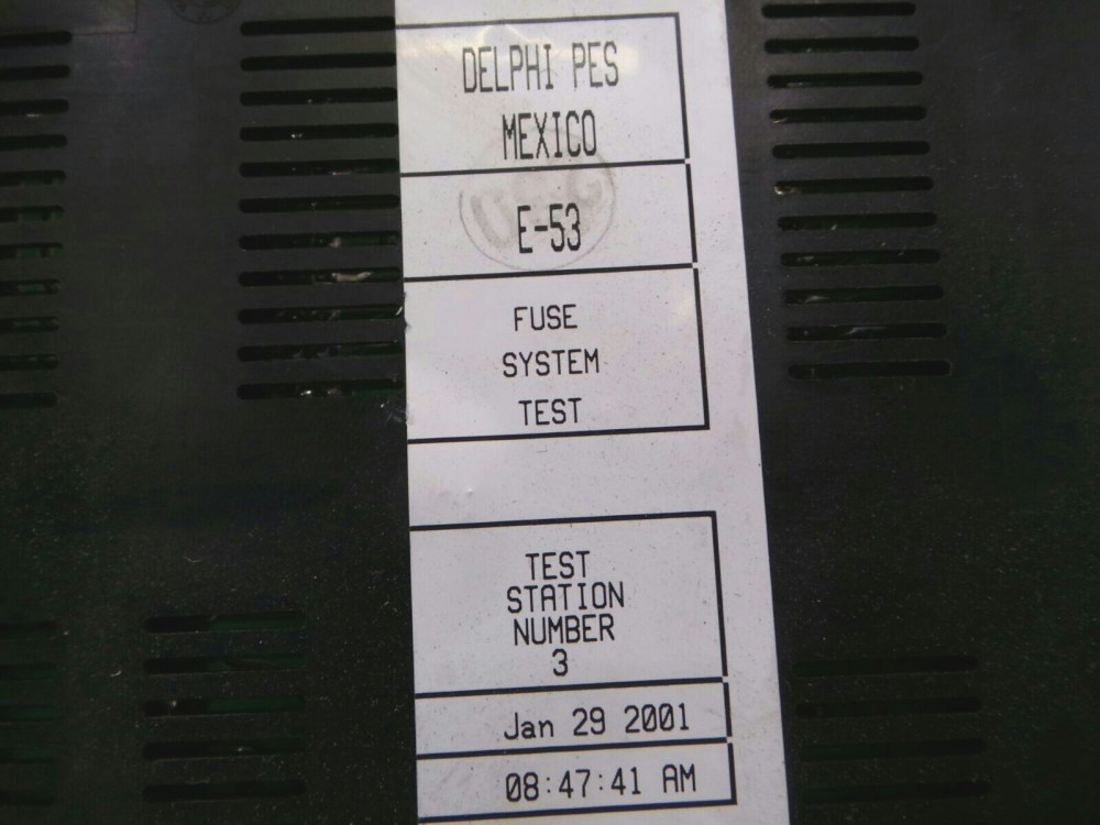 medium resolution of bmw x5 e53 fuse box 61136907395
