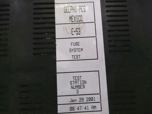 small resolution of bmw x5 e53 fuse box 61136907395