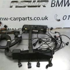 Bmw X5 E53 Wiring Diagram 2001 Gmc Sierra Radio M62 Engine Loom 12517513340 Breaking For