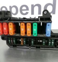 bmw 5 series e60 lci fuse box 61146932452 [ 1600 x 1200 Pixel ]