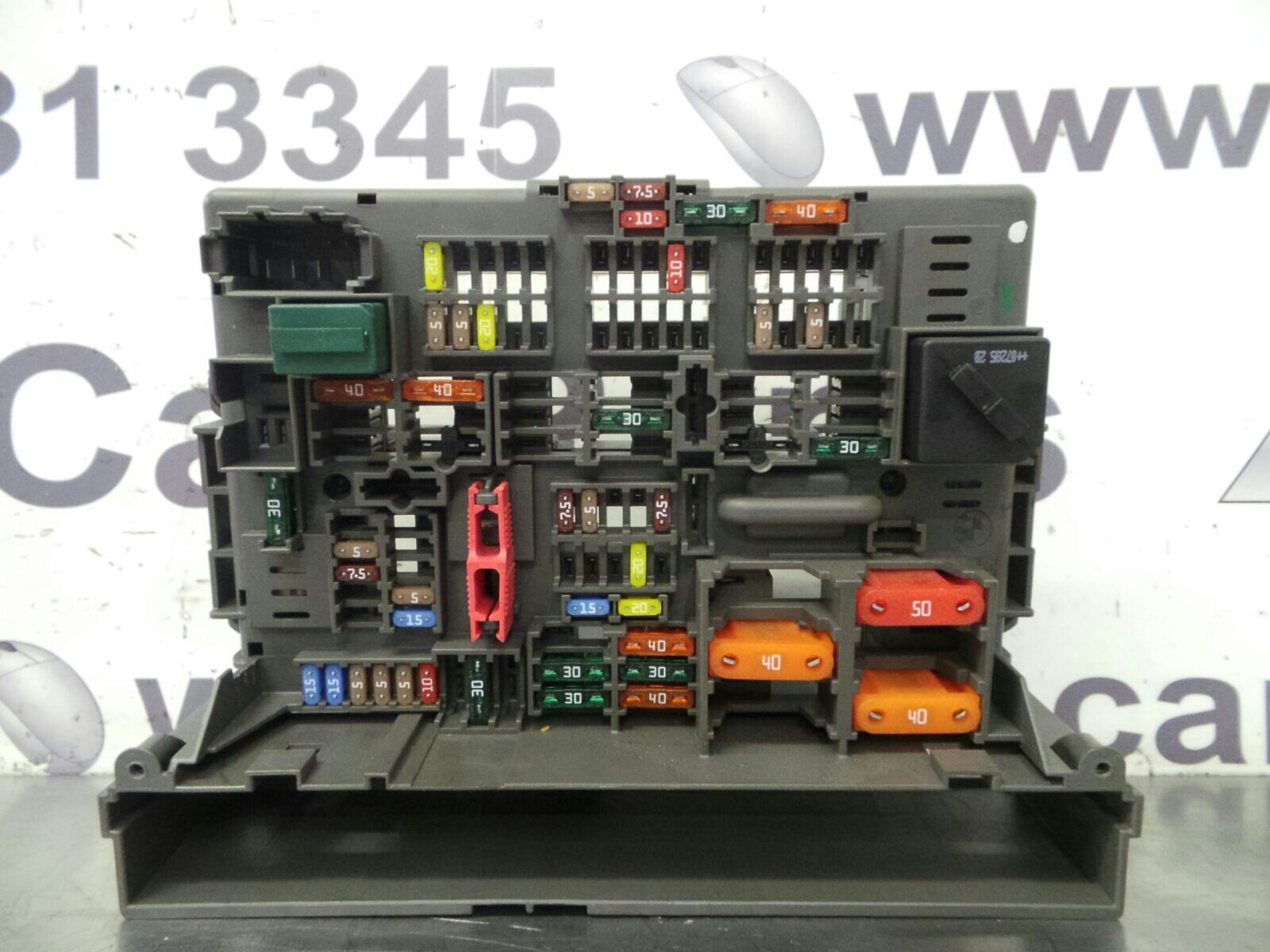 hight resolution of bmw 1 series e81 fuse box 9119445 9119446