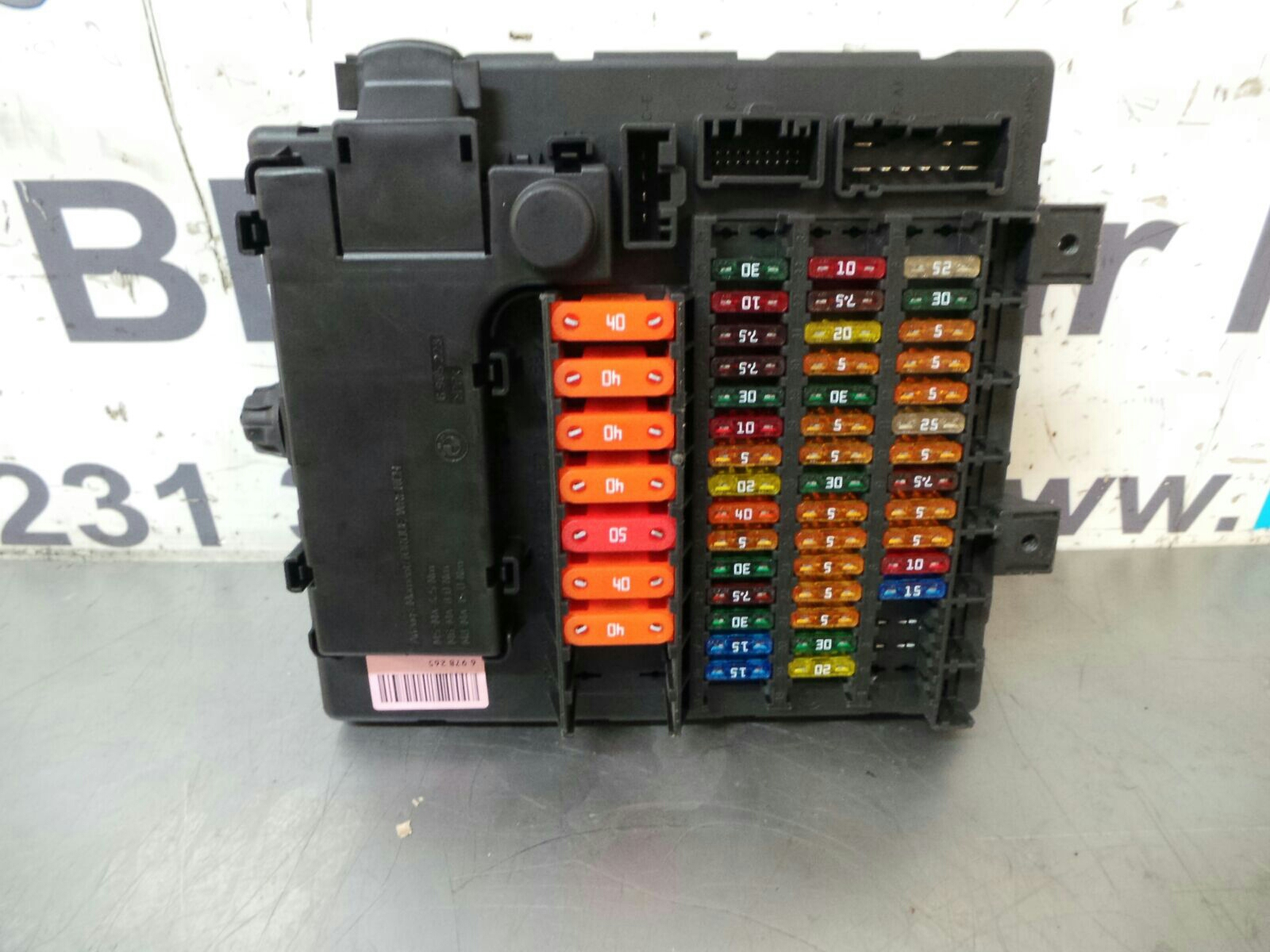 hight resolution of bmw z series e85 fuse box 61148384629