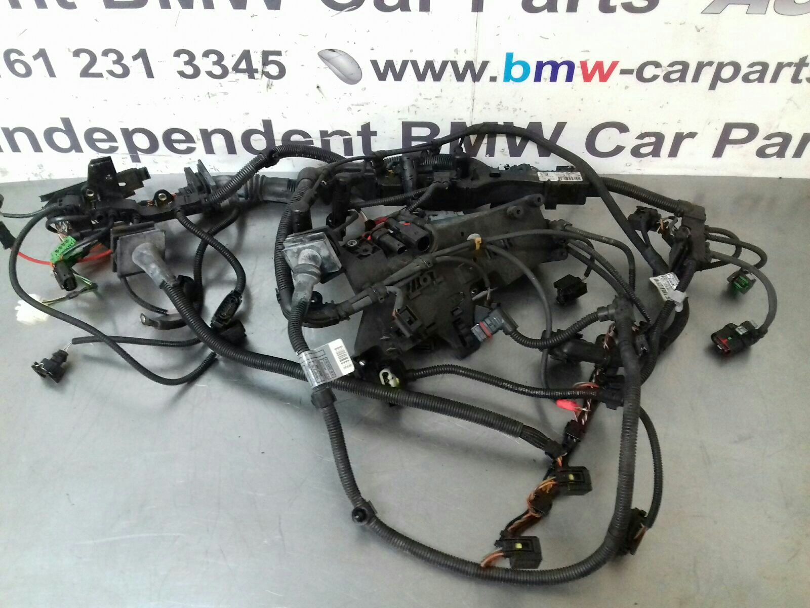 hight resolution of bmw e87 1 series n47 engine wiring loom 12518507213 breaking for bmw 1 series radio wiring diagram bmw 1 series wiring loom
