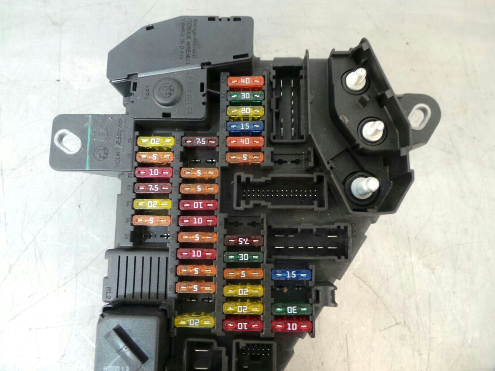 hight resolution of bmw e63 6 series fuse box 61146906588