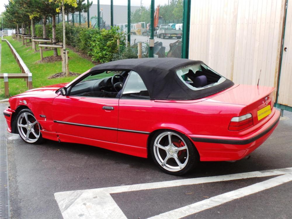medium resolution of 1996 bmw 3 series 318i convertible petrol manual breaking for used and spare parts from aswr in openshaw manchester