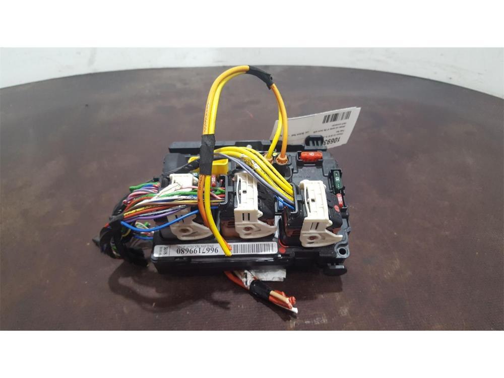 medium resolution of citroen c3 2010 to 2013 fuse box bsi bmi bcm body control unit 9667199680