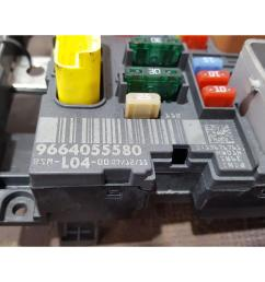 peugeot 207 2006 to 2009 gti fuse and relay box 1 used and spare parts at [ 1600 x 1200 Pixel ]