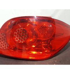 peugeot 307 2005 to 2008 o s right drivers rear light 6351x1 5 door hatchback [ 1600 x 1200 Pixel ]