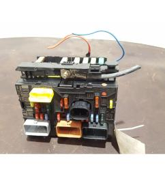 peugeot 307 2005 to 2008 fuse box bsi bmi bcm body control unit 9661087080 [ 1600 x 1200 Pixel ]