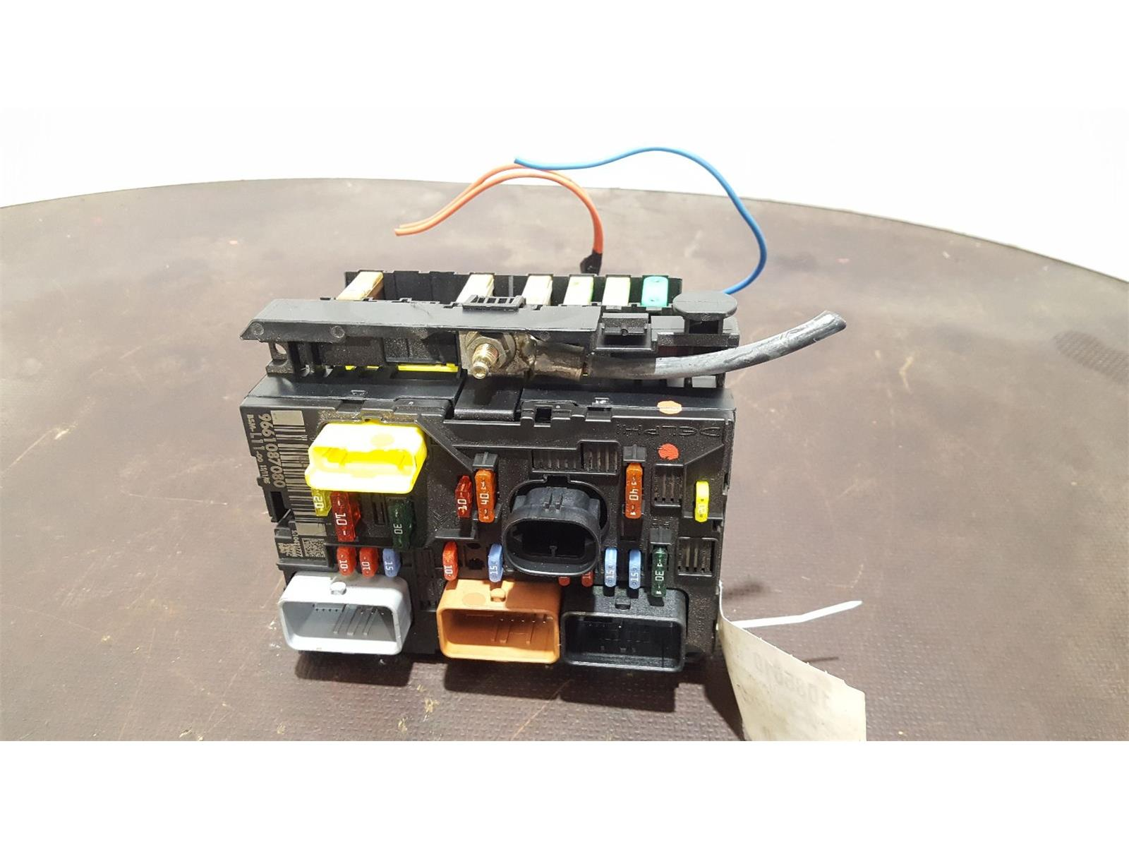 hight resolution of peugeot 307 2005 to 2008 fuse box bsi bmi bcm body control unit 9661087080