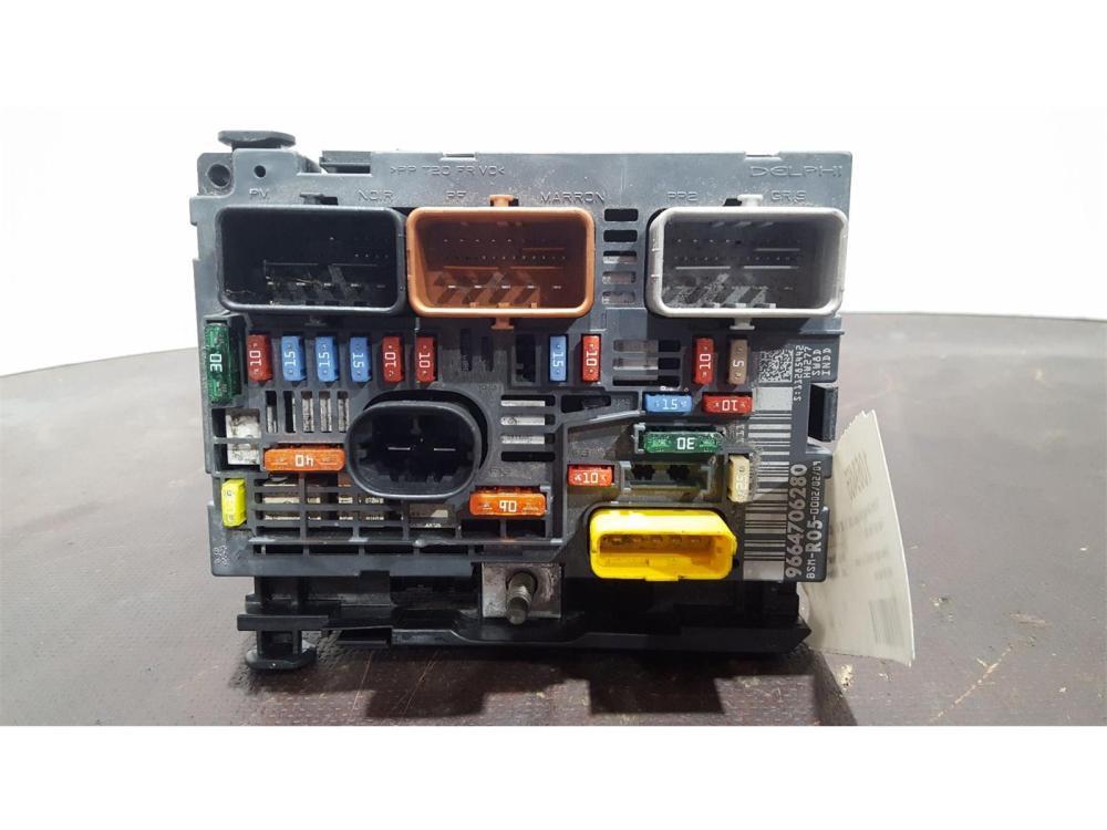 medium resolution of citroen berlingo 2008 to 2012 fuse box bsi bmi bcm body control unit 9664706280