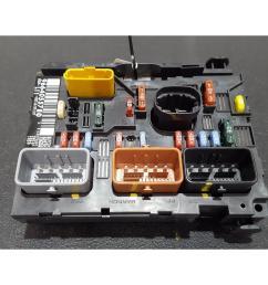 peugeot 207 2006 to 2009 fuse box bsi bmi bcm body control unit 9664055780 [ 1600 x 1200 Pixel ]