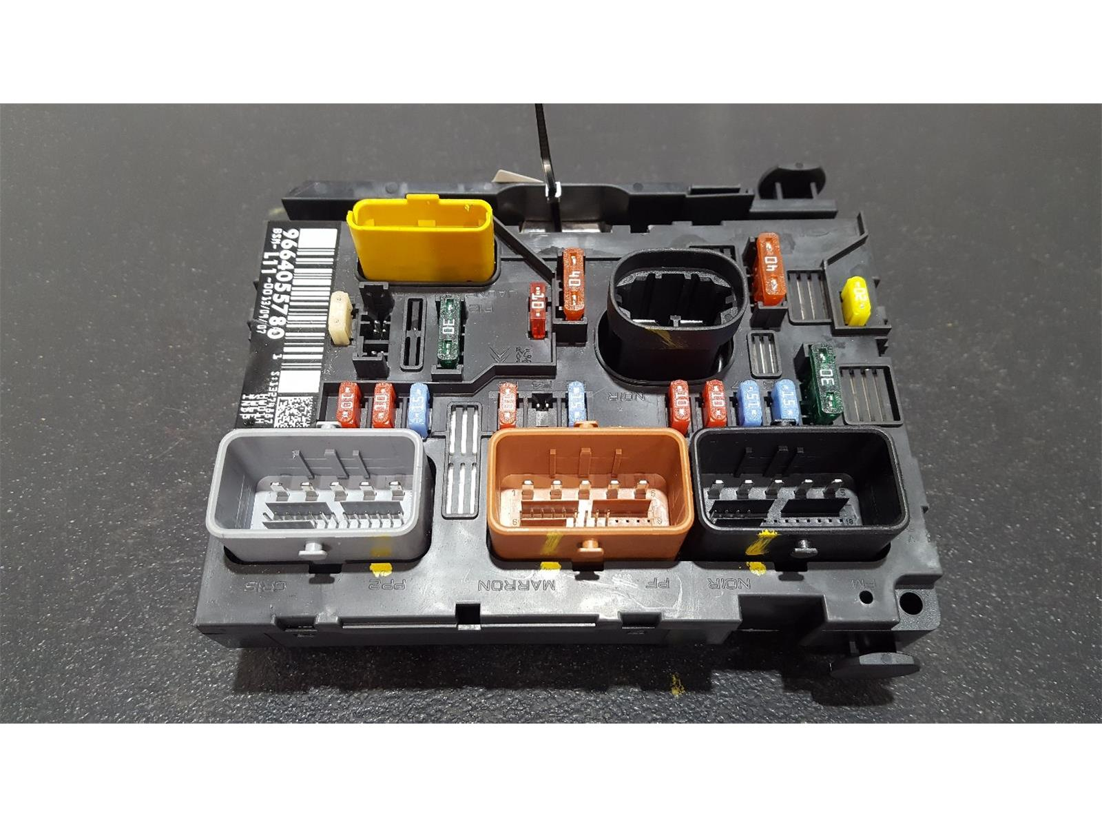 hight resolution of peugeot 207 2006 to 2009 fuse box bsi bmi bcm body control unit 9664055780