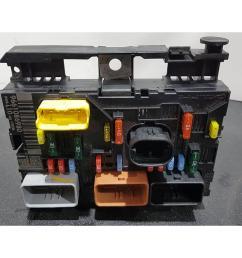 peugeot 207 2006 to 2009 fuse box bsi bmi bcm body control unit [ 1600 x 1200 Pixel ]