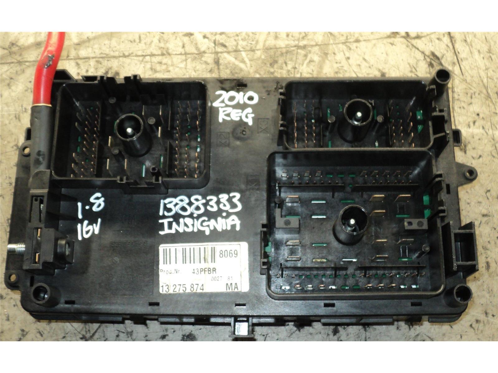 hight resolution of vauxhall insignia 2009 2013 fuse box relay board warranty 1185686