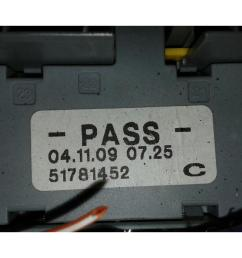 fusebox fiat 500 2008 to 2015 fuse box warranty 1279781  [ 1600 x 1200 Pixel ]