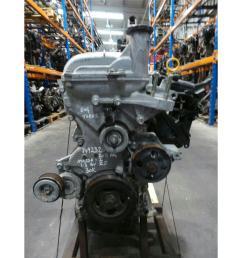 engine 2008 15 mazda 2 1 3 petrol engine zj 30k miles warranty 5108163  [ 1600 x 1200 Pixel ]