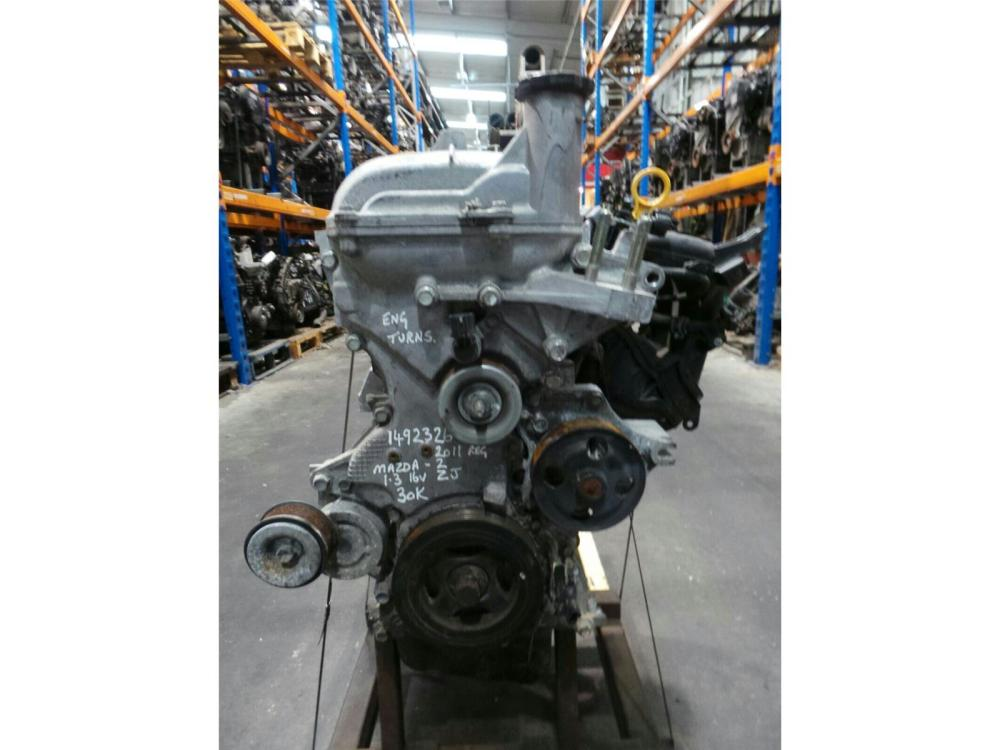 medium resolution of  engine 2008 15 mazda 2 1 3 petrol engine zj 30k miles warranty 5108163