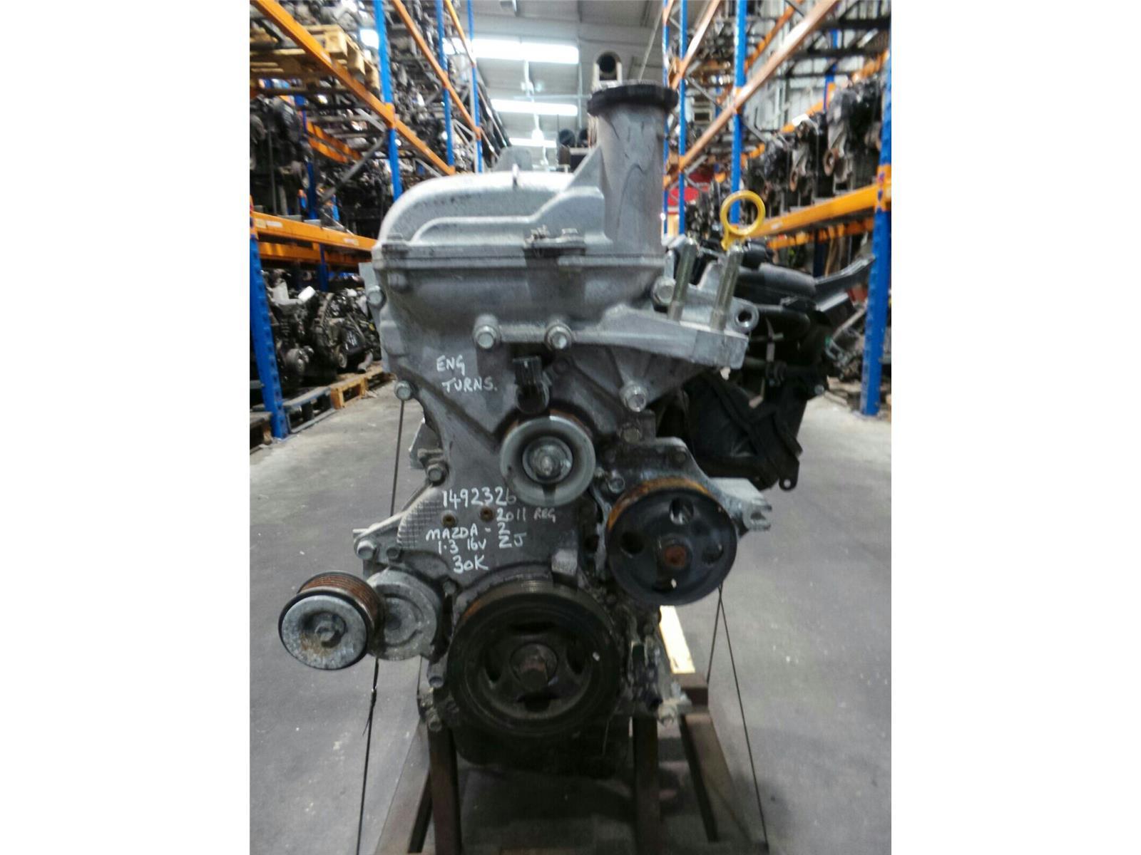 hight resolution of  engine 2008 15 mazda 2 1 3 petrol engine zj 30k miles warranty 5108163
