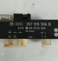 fusebox relay 1992 1996 volkswagen golf vr6 mk3 warranty  [ 1600 x 900 Pixel ]
