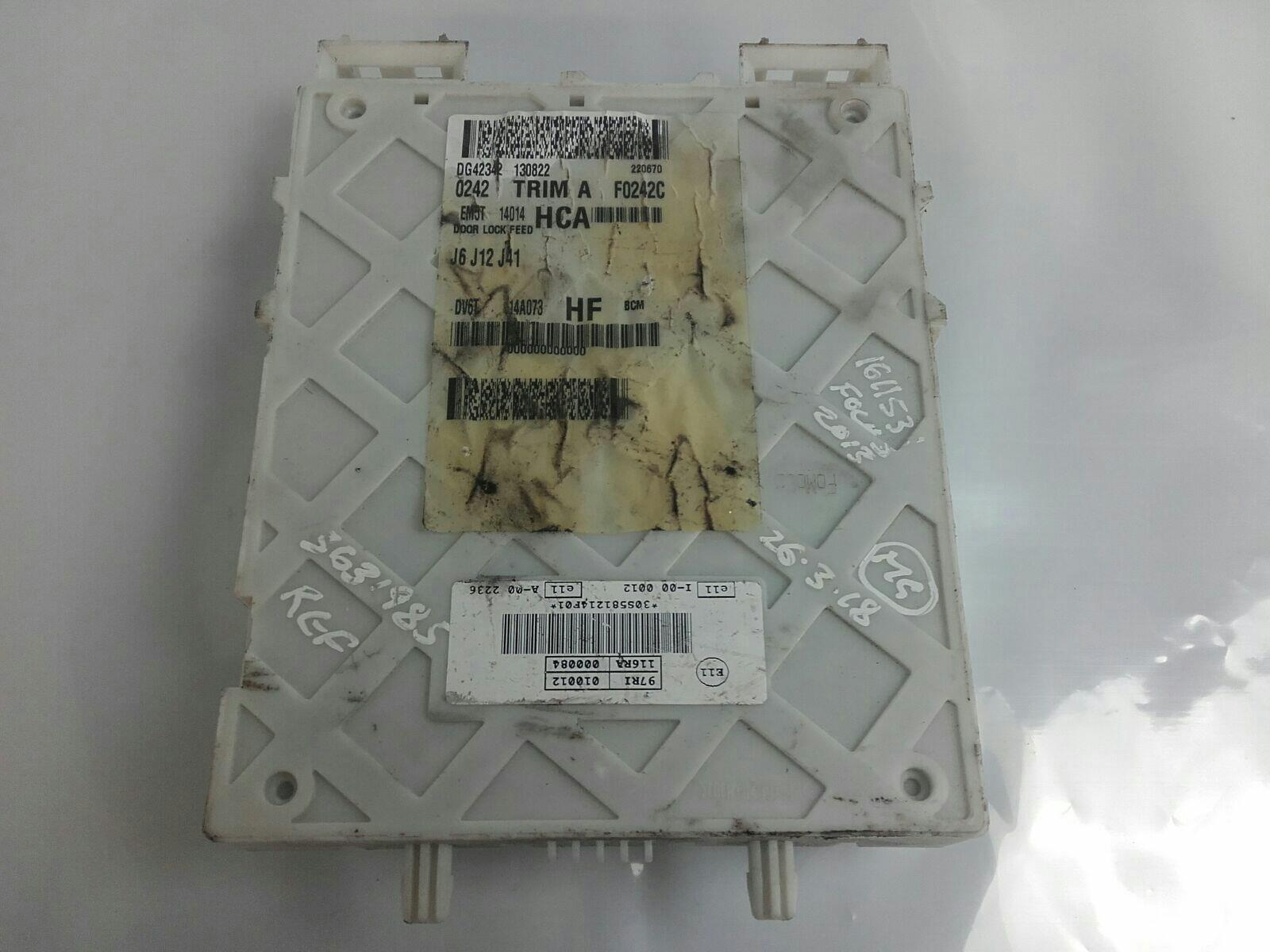 hight resolution of ford focus 2011 to 2014 fuse box petrol manual for sale fromford focus fuse