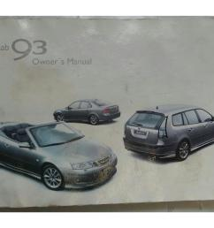 saab 9 3 2003 2007 owners handbook manual wallet 7326316 [ 1600 x 1200 Pixel ]