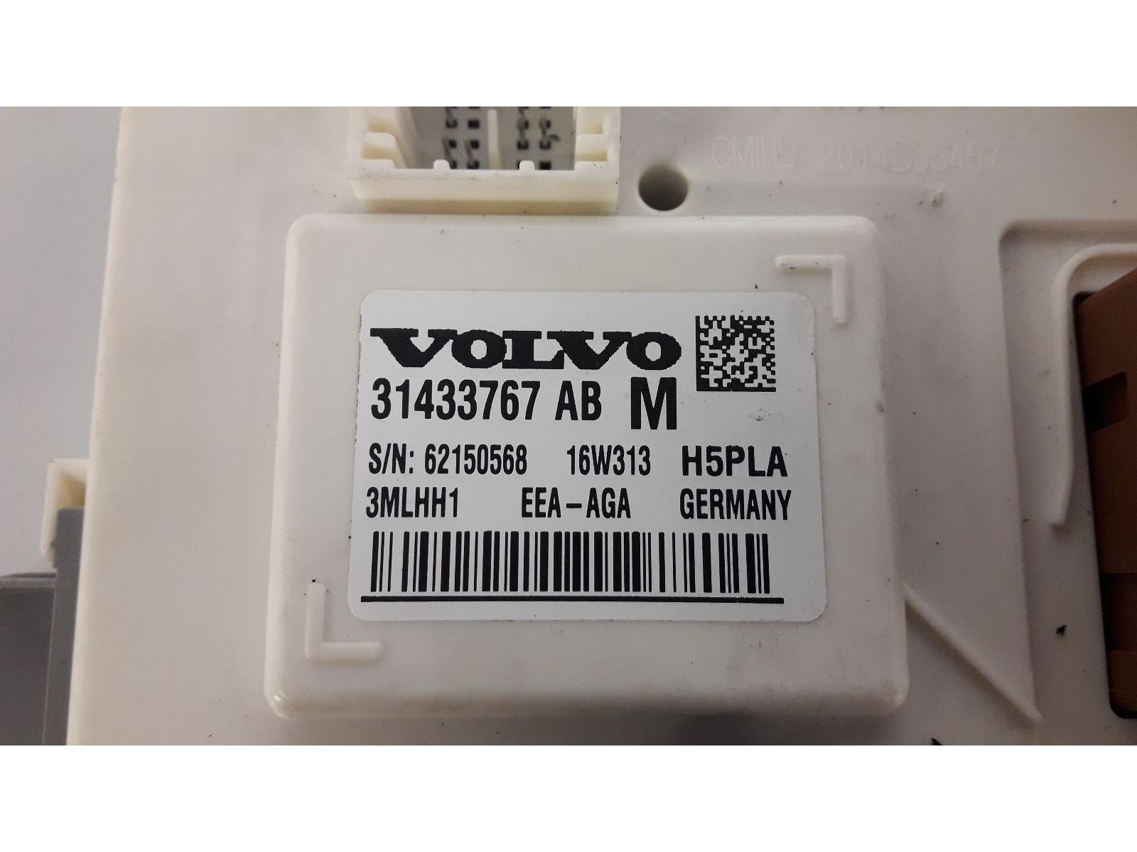 hight resolution of  volvo xc90 2014 on fuse relay box 31433767 warranty 7407768
