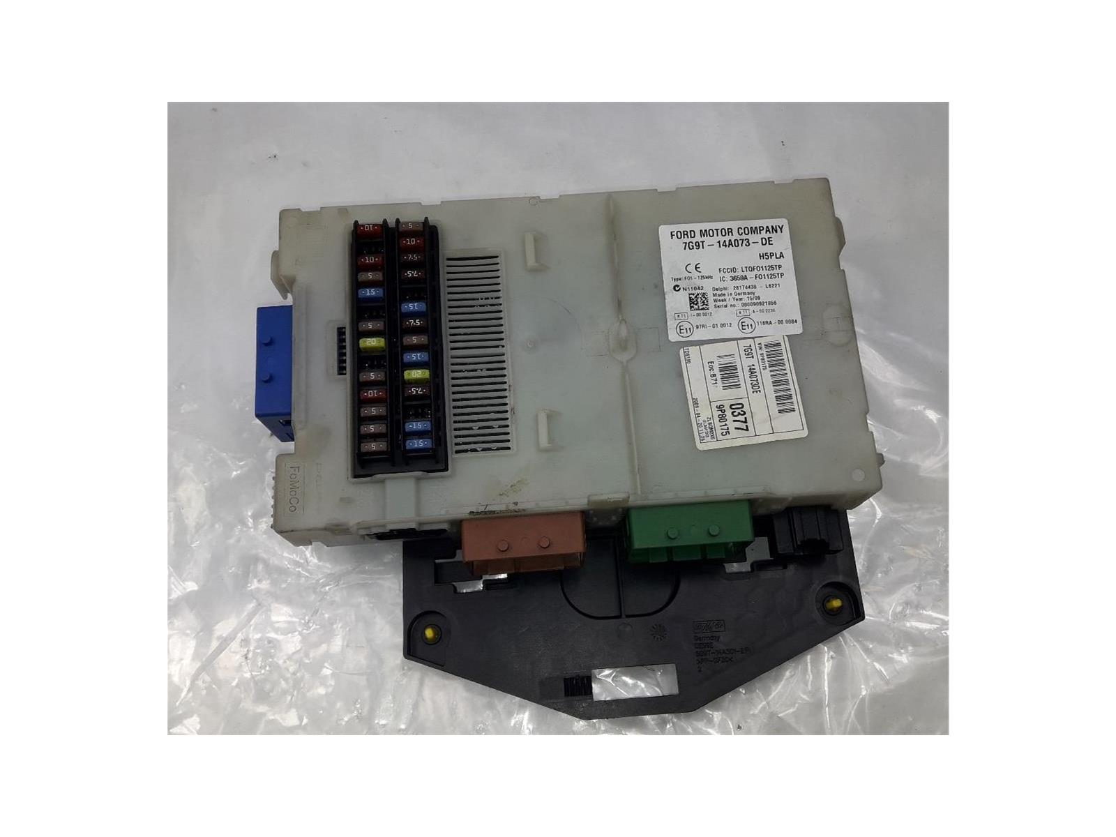 hight resolution of ford mondeo 2007 to 2010 fuse box