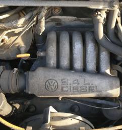 engine volkswagen transporter 1990 to 1996 2 4 74bhp diesel manual aab 7426765 [ 1600 x 1200 Pixel ]