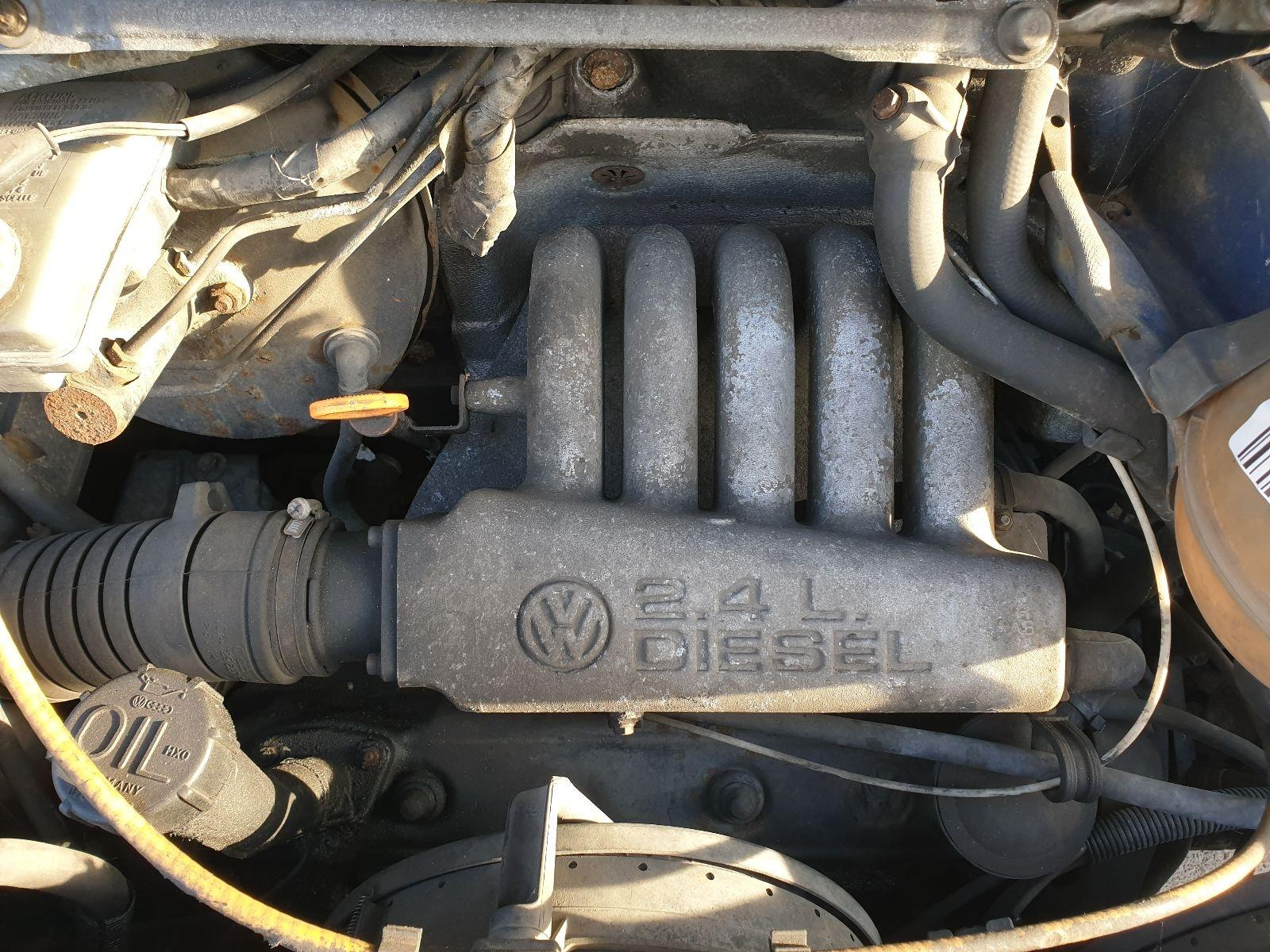 hight resolution of engine volkswagen transporter 1990 to 1996 2 4 74bhp diesel manual aab 7426765