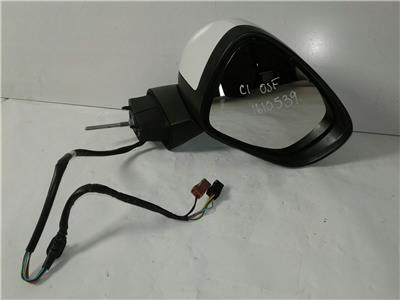 citroen c4 tailgate wiring diagram 12v generator c3 used parts recycled cheap 2013 2016 white drivers wing door mirror