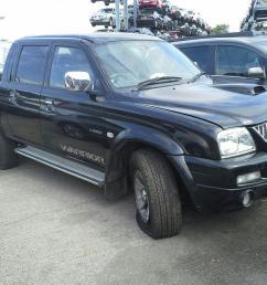 mitsubishi l200 1997 to 2006 pick up [ 1600 x 1200 Pixel ]