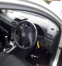 toyota avensis 2007 to 2009 5 door hatchback [ 1600 x 1200 Pixel ]