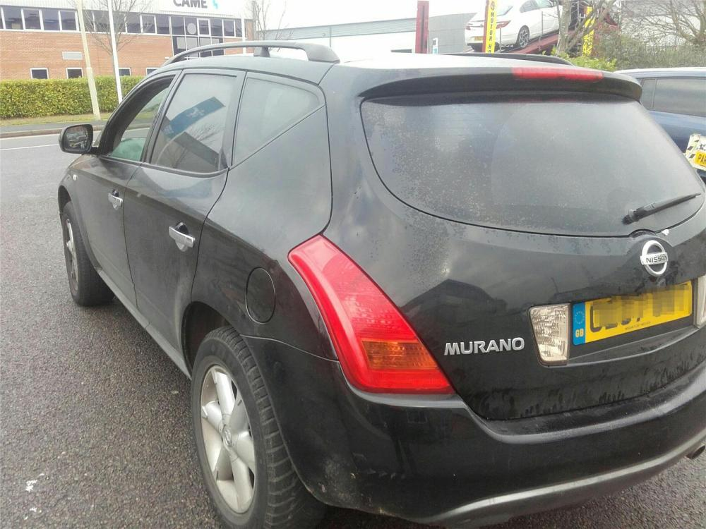 medium resolution of nissan murano 2004 to 2008 5 door 4x4