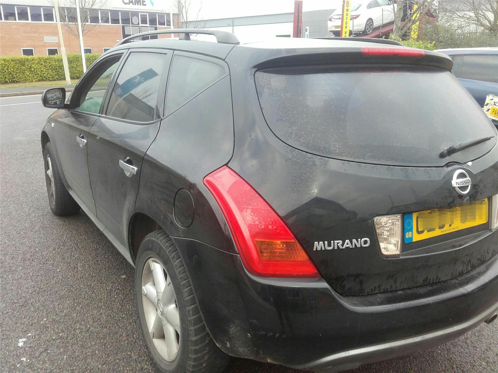 hight resolution of nissan murano 2004 to 2008 5 door 4x4