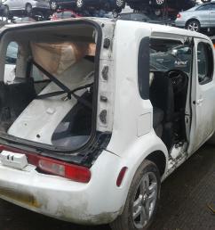 nissan cube 2010 on 5 door hatchback  [ 1600 x 1200 Pixel ]
