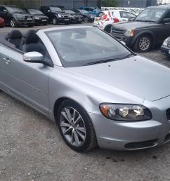 2009 volvo c70 se 2400 diesel manual 6 speed 2 door cabriolet [ 1600 x 1200 Pixel ]