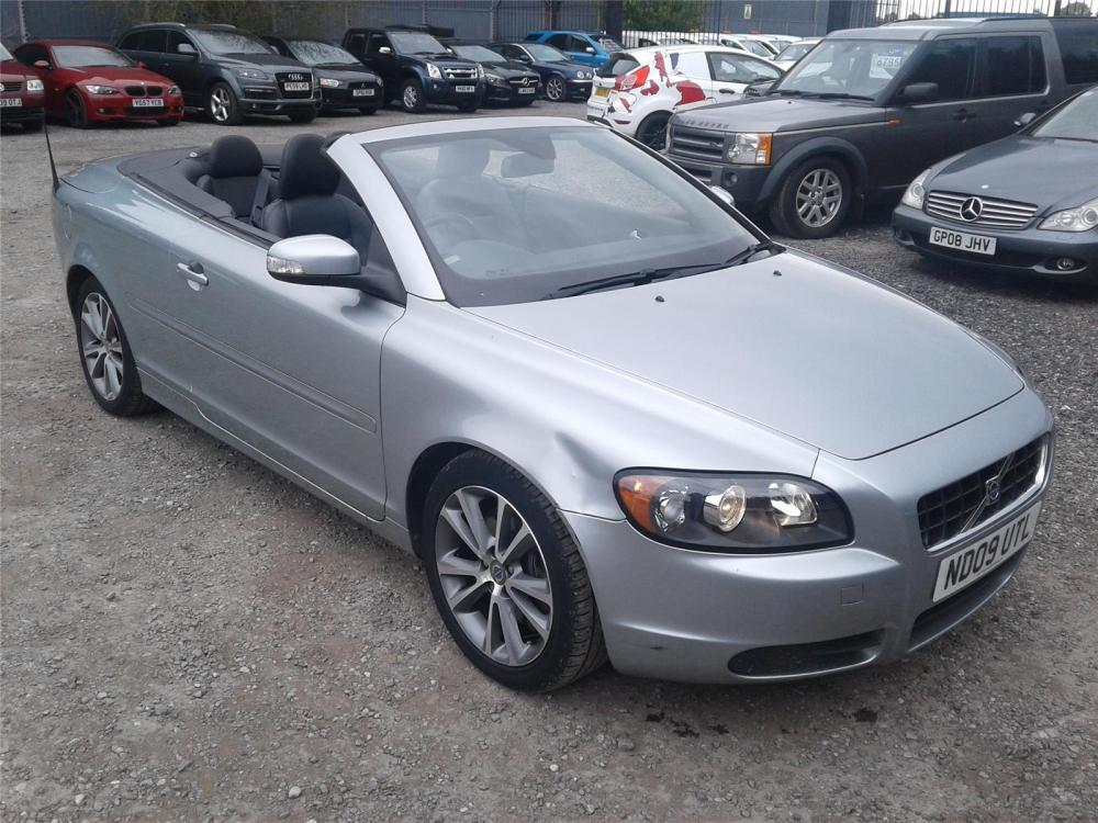 medium resolution of 2009 volvo c70 se 2400 diesel manual 6 speed 2 door cabriolet