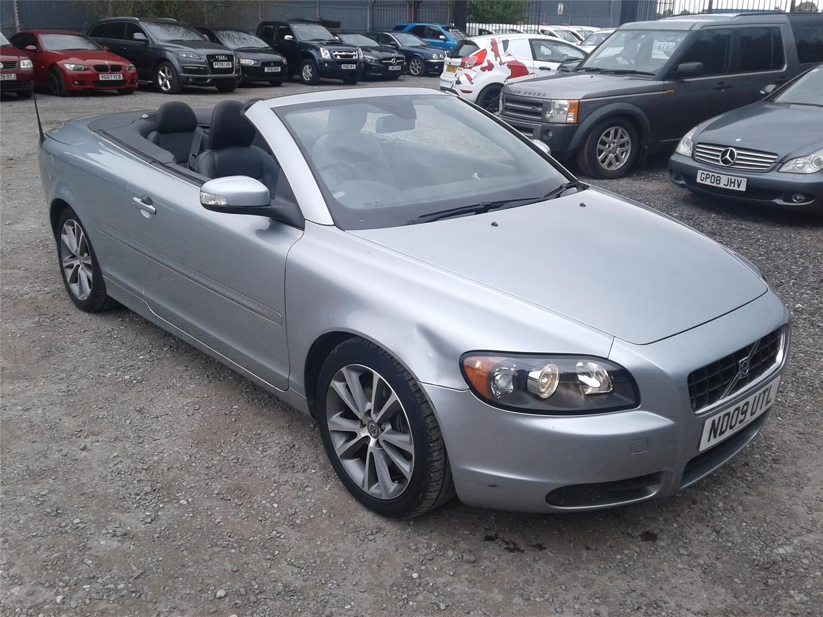 hight resolution of 2009 volvo c70 se 2400 diesel manual 6 speed 2 door cabriolet