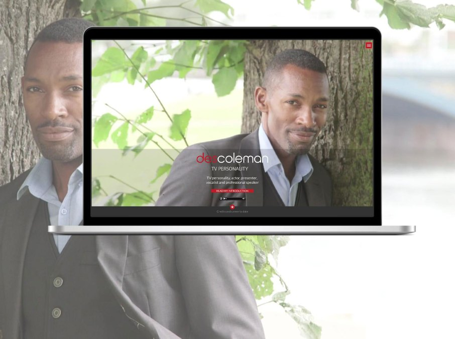 New Website Design Launched for Des Coleman