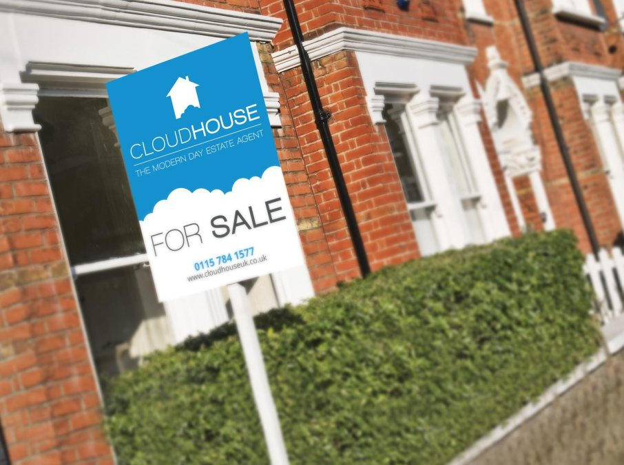 New Logo Design for Online Estate Agent, Cloudhouse