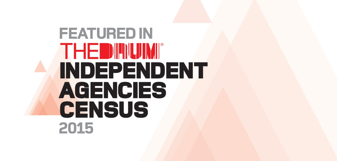 Fifteen listed in The Drum Independent Agencies Census 2015