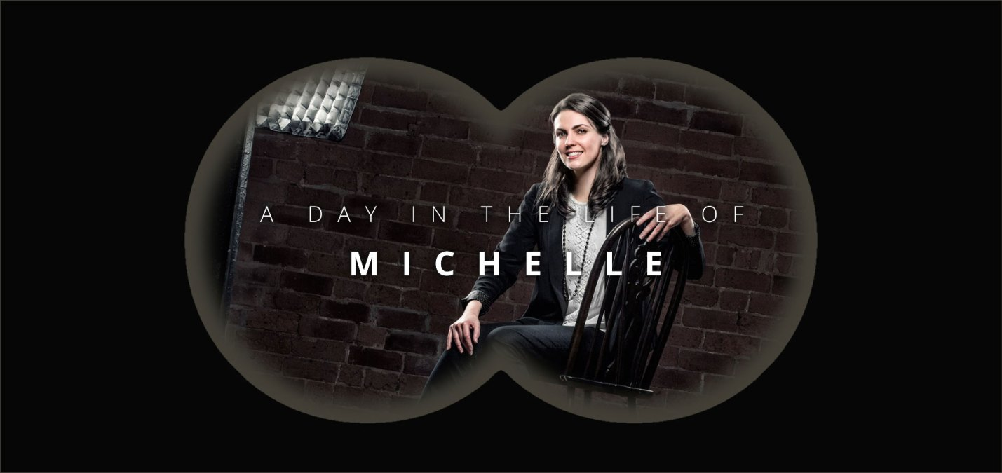 A day in the life of Michelle Moss, Lead Creative