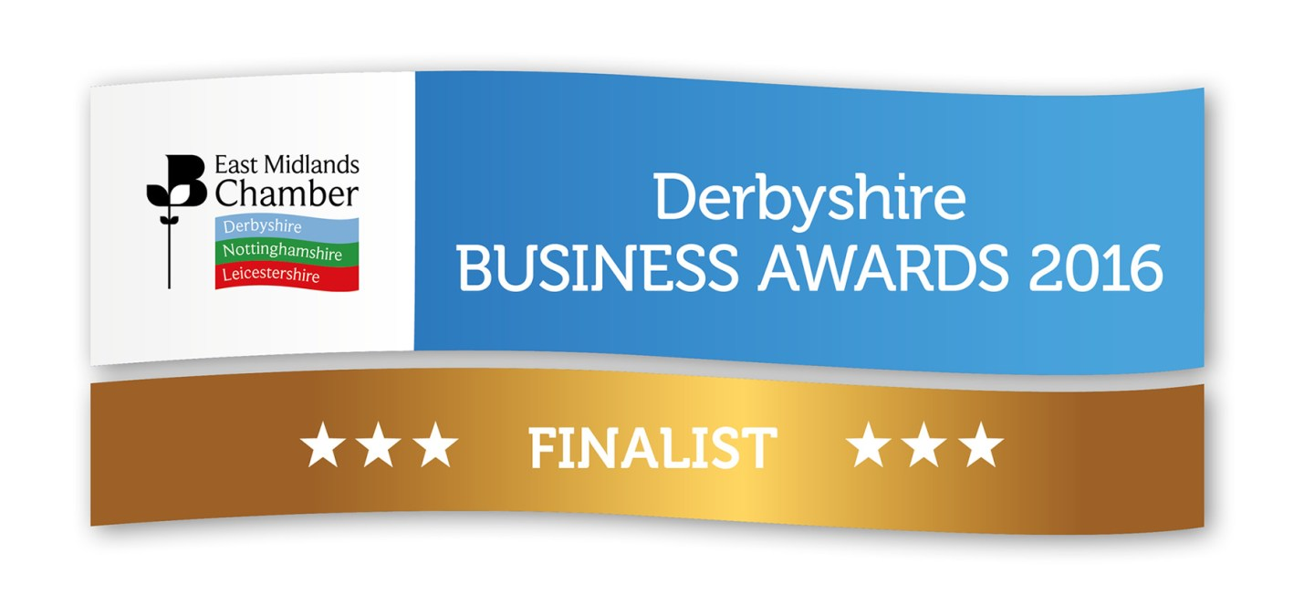 Fifteen are Derbyshire finalists at The Chamber Business Awards 2016!
