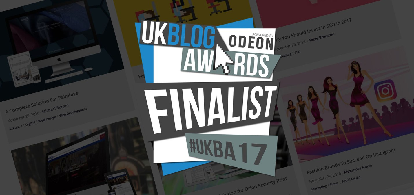 Fifteen are UK Blog Awards Finalists!