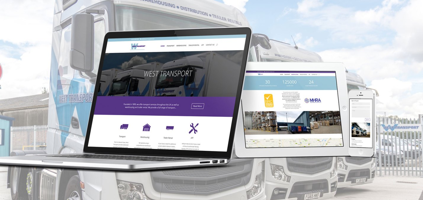 Fifteen Put West Transport On The Road To Online Success