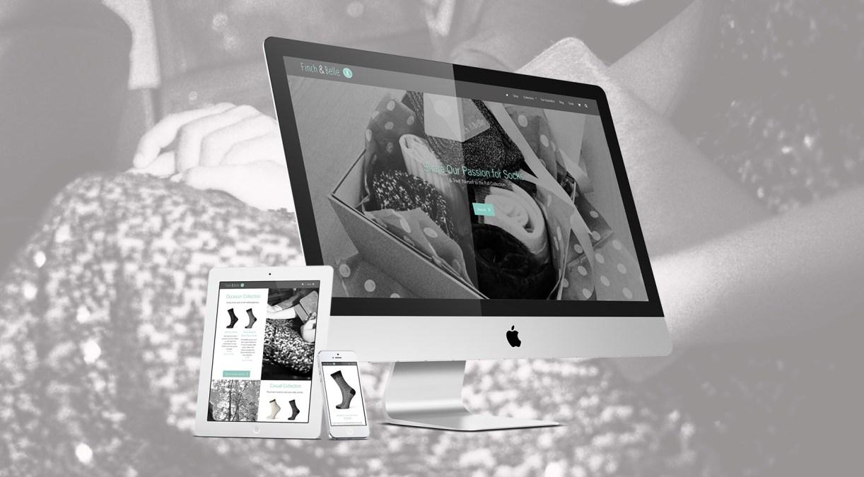 New Website for Finch & Belle
