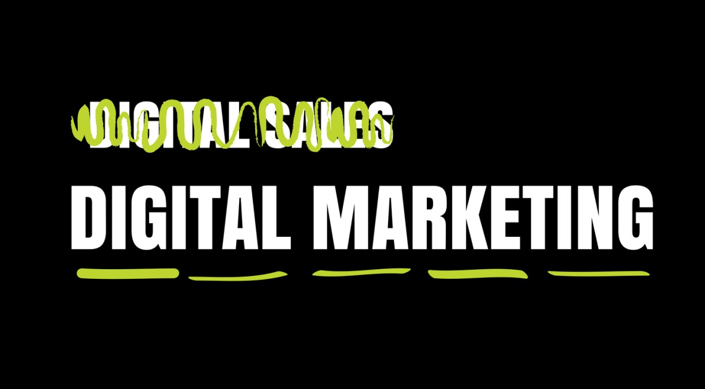 Digital Marketing is not Digital Sales